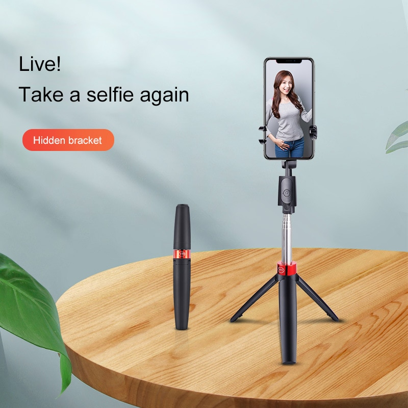 The new Y11 selfie stick, Bluetooth selfie stick for horizontal and vertical shooting, with tripod, live streaming and selfies