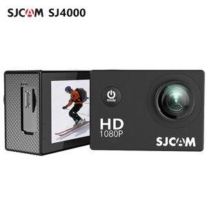 Оригинальная Экшн-камера SJCAM SJ4000, Спортивная DV 1080P Full HD 2,0 дюйма, экран для дайвинга 30 м, Водонепроницаемая мини-видеокамера