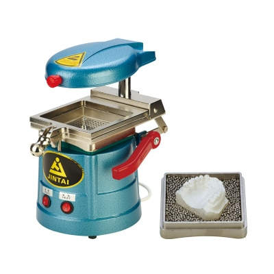 Vácuo dental que forma a máquina anterior do molde da bola do aço do calor do equipamento do laboratório da fonte novo 110 v/220 v 1000 w equipamento dental