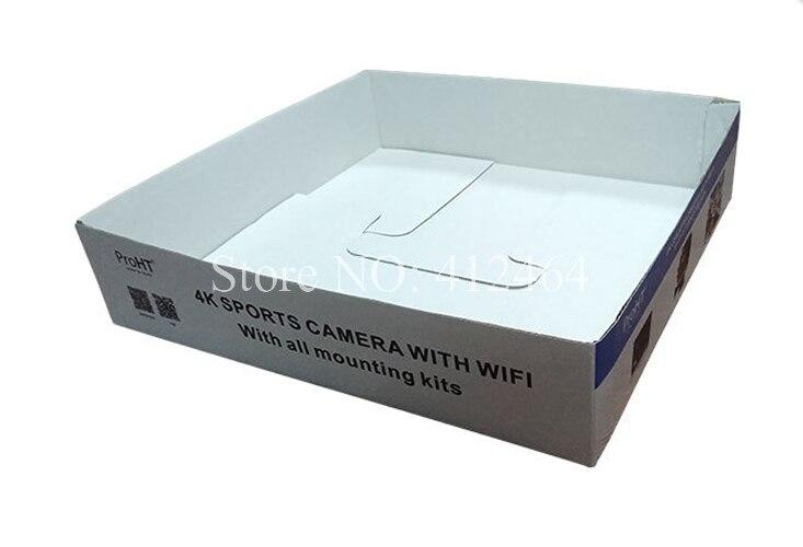 Embalaje personalizado y precio de venta al por mayor, caja exhibidora para correo de papel (DX-045)