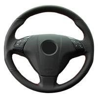 customized car steering wheel cover for fiat bravo doblo opel combo grande punto linea qubo for vauxhall diy steering wheel wrap