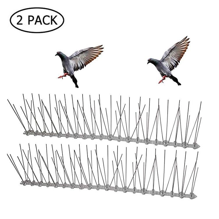 Herramienta de disuasión de aves de acero inoxidable 6M respetuosa con el medio ambiente, para Control de cercas de aves pequeñas