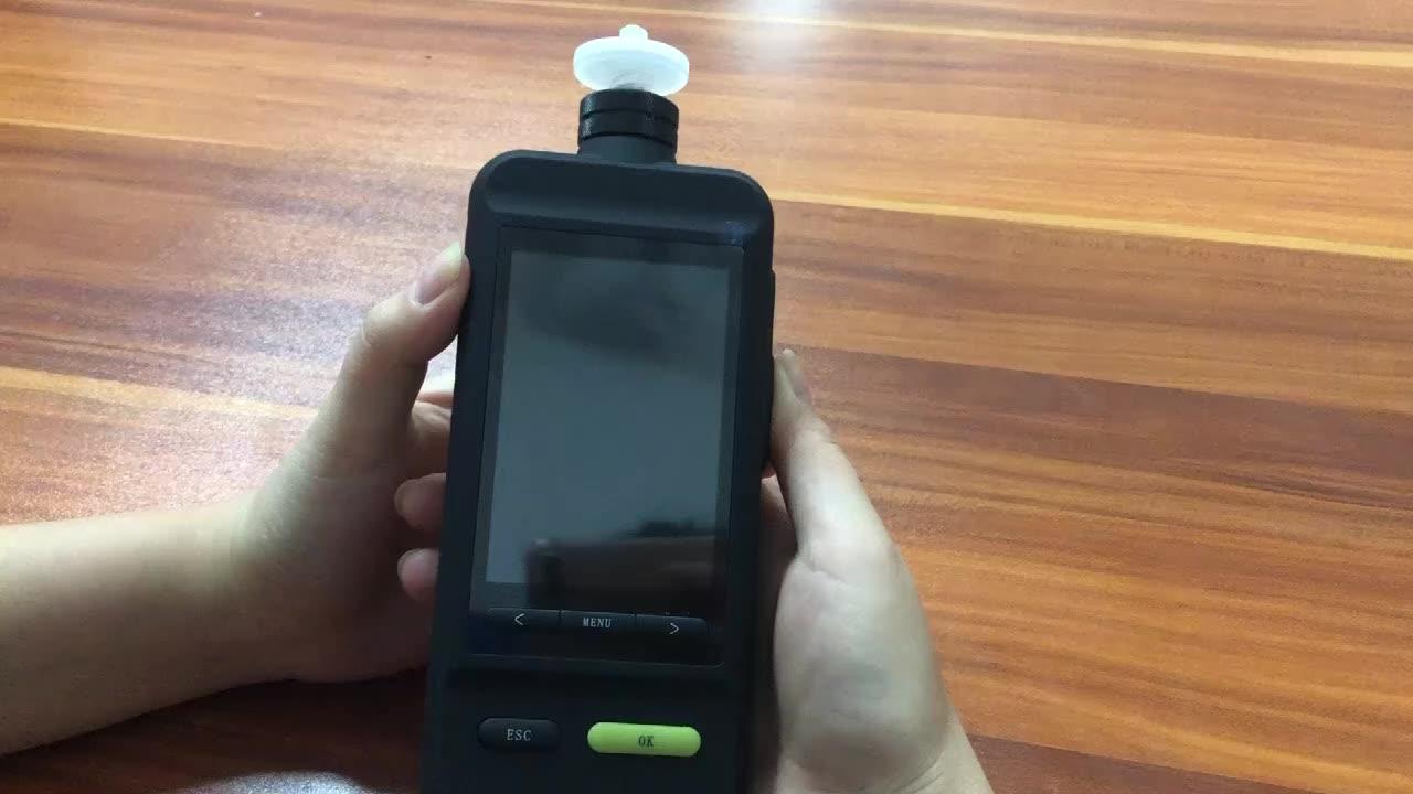 Цифровой анализатор чистоты углекислого газа CO2 с цветным экраном