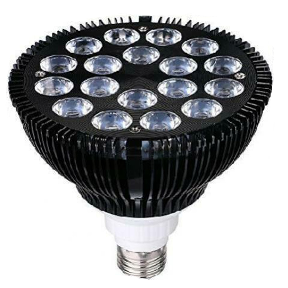 Luz LED de cultivo rojo profundo de 36W 220V Luz de cultivo interior E26 lámpara de cultivo de Fito de espectro completo planta hidropónica de flores de invernadero