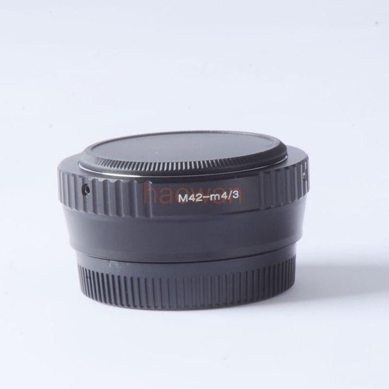 M42-m43 الاتصال المخفض سرعة الداعم توربو محول ل 42 مللي متر m42 عدسة إلى باناسونيك m4/3 كاميرا GF6 GX7 gh4 gh5 EM5 EM1 em10 E-PL5
