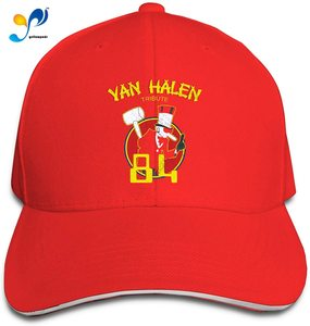 Unisex Fashion Sandwich Cap Van Halen - 1984 Adjustable Baseball Hip Hop Cap Trucker Sandwich Hat For Sports