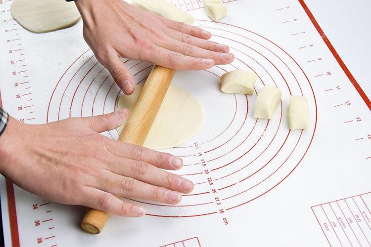 60*40CM estera para hornear de silicona de masa de Pizza de pastelería cocina Gadgets Herramientas de cocina utensilios para hornear de amasar