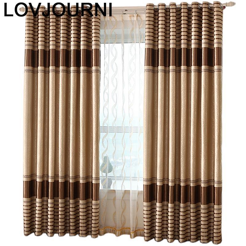 Rideau-Cortinas De lujo Para salón, Visillos transparentes Para cocina, sala De estar,...