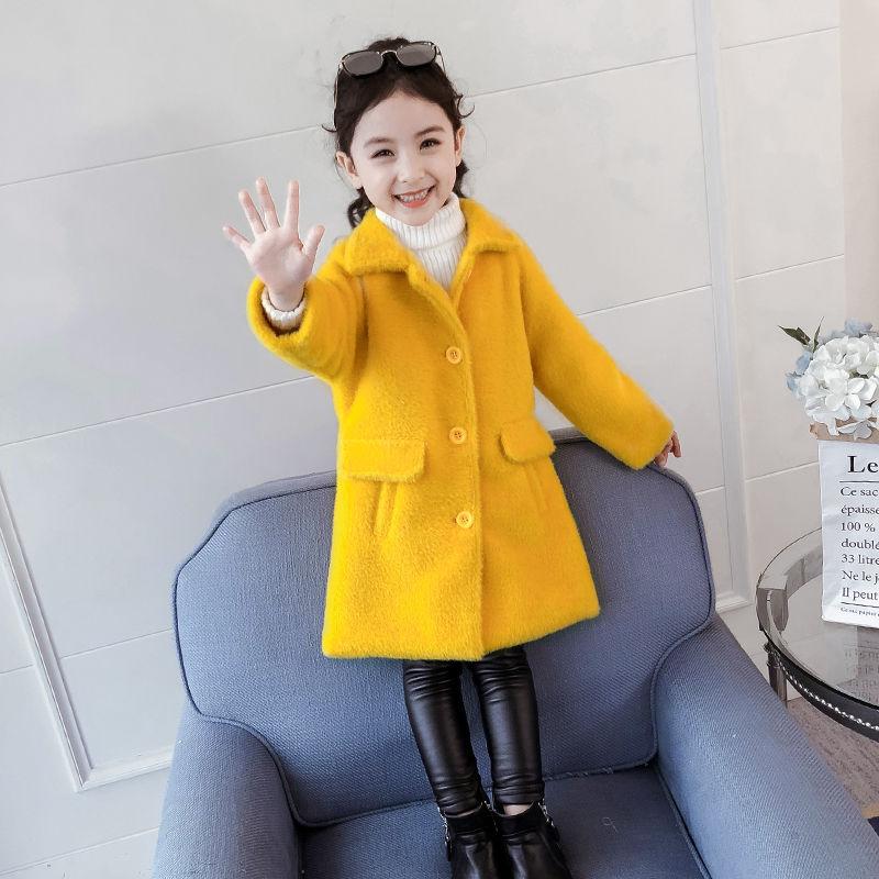 2020 Autumn Winter Children's Faux Fur Coat Baby Teddy Bear Thicken Warm Jacket Girls Overcoat Kids Clothes Casual Outwear W868 enlarge