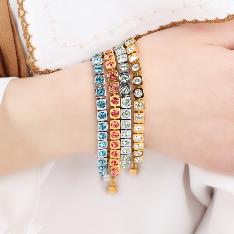 Хит продаж, модный браслет DYRBERG/KERN со стразами, браслет в наличии