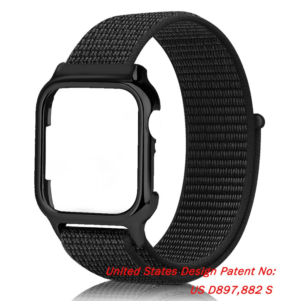 Elastic Sport Solo Loop Strap for AppleWatch 6 Band 44mm 40mm Accessories Nylon WristBand Bracelet