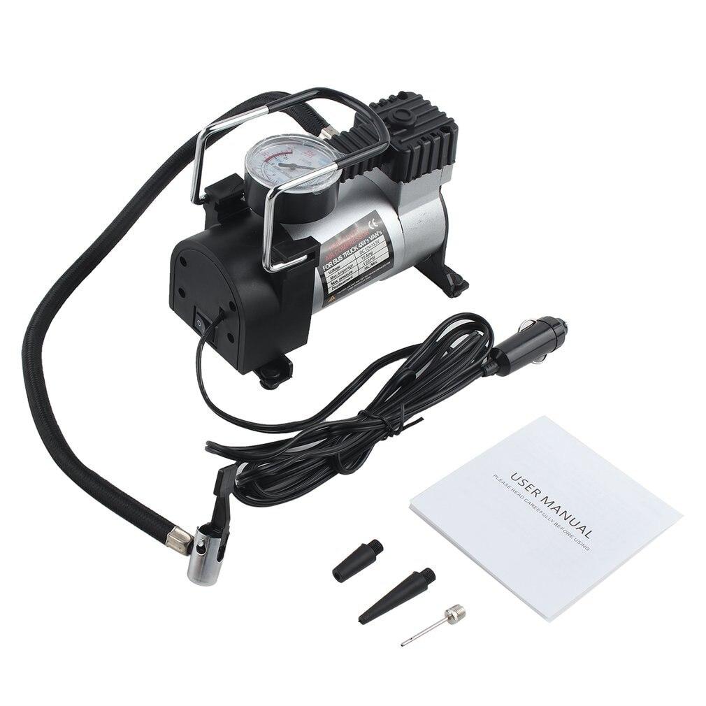 12 В портативный автомобильный Электрический воздушный компрессор насос для шин для мотоцикла B насос для накачивания шин автомобильный Ста...