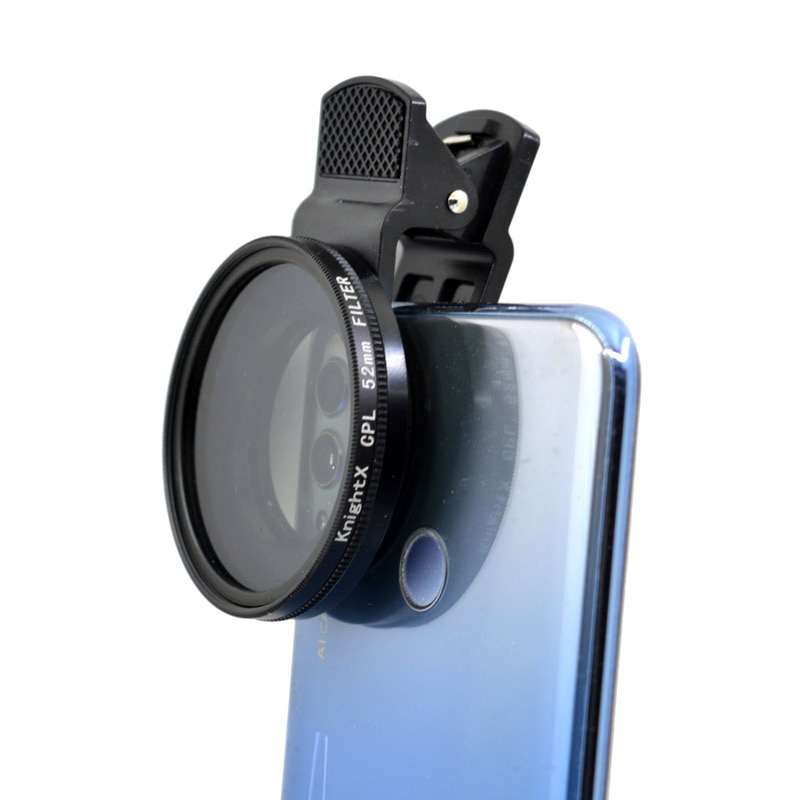 KnightX professional 52MM Camera filter macro Neutral Density ND lens lenses for iphone 11 mobile ph