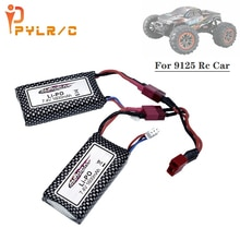 Upgrade to 3200mAh T Plug For 9125 Remote Control Rc Car Spare Parts 7.4v 1600mah Lipo Battery XLH 9