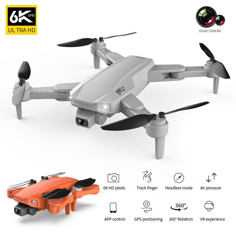 2021 New S608 Pro Rc Drone 6K HD Dual Camera with GPS 5G WIFI FPV real-time transmission brushless motor professional quadcopter enlarge
