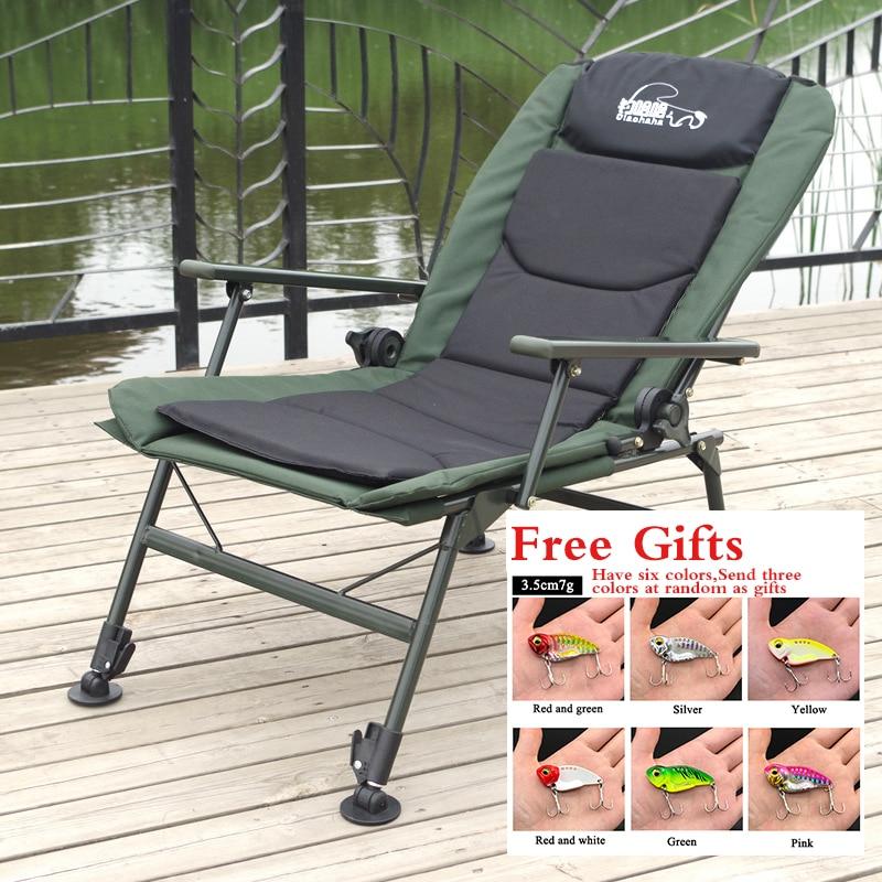 Europäischen Stil Angeln Stuhl Multifunktionale Klappstuhl Sway Können sitzen und liegen Angeln Hocker Angeln Supplie fishiing stuhl
