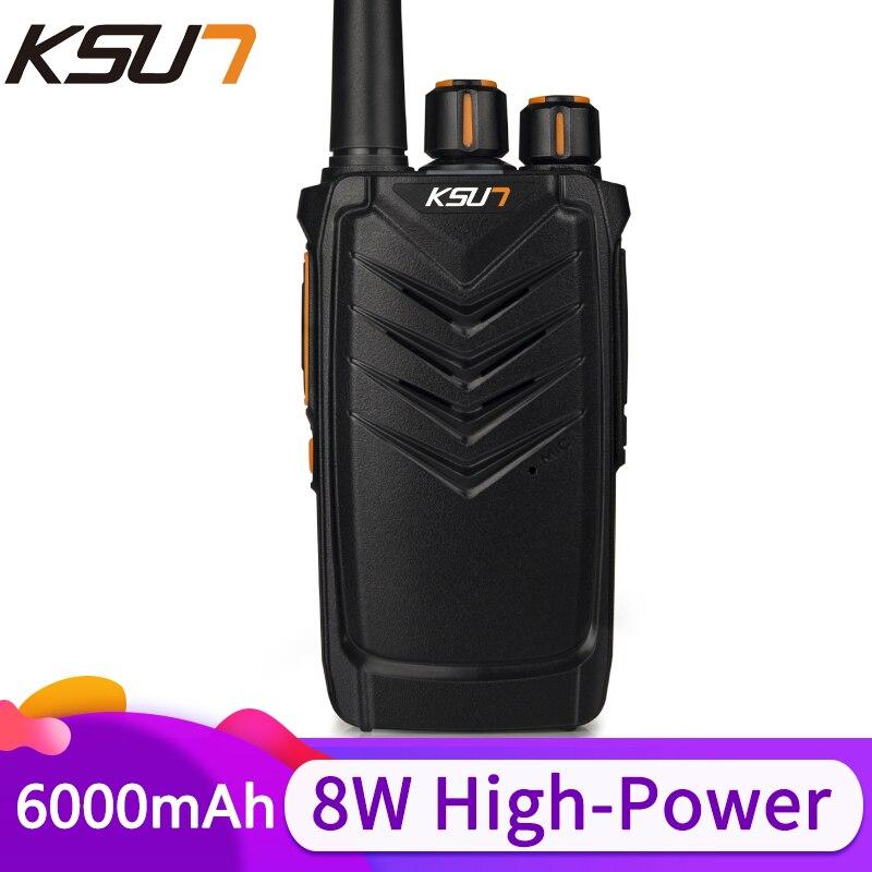 KSUN UHF Walkie Talkie Ham Radio Comunicador Hf Transceiver Radio Scanner Two Way Radio Walkie Talkie