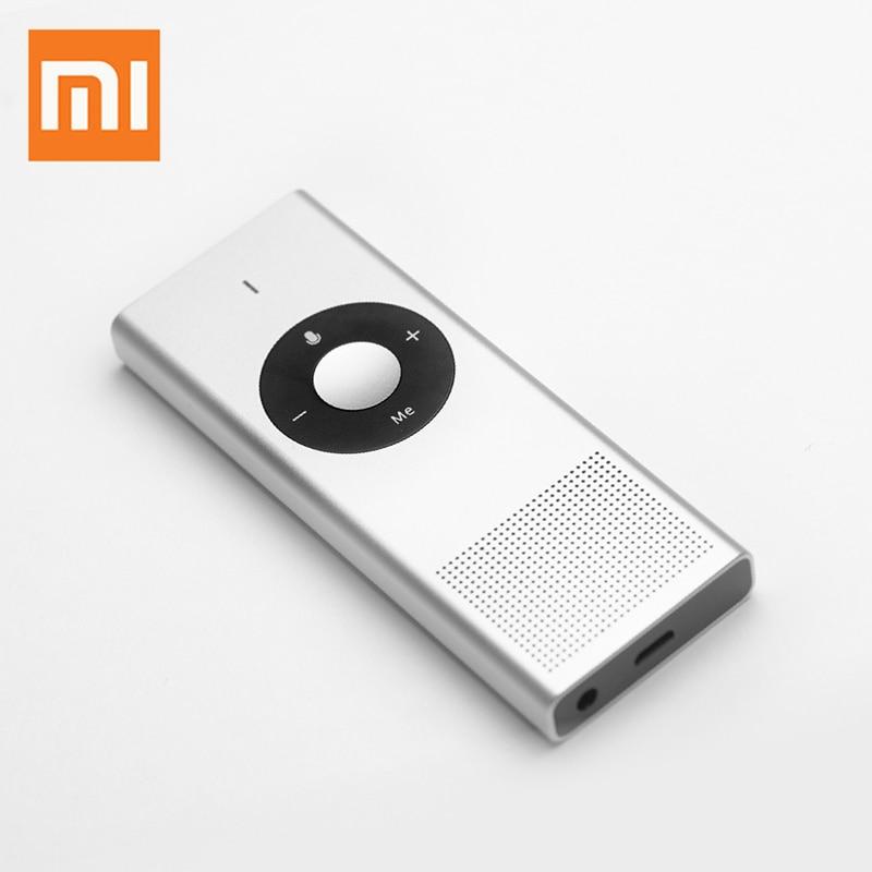 Xiaomi Moyu Übersetzer Tragbare AI Stimme 14 Sprachen Mini übersetzer Intelligente Tasche Gerät für Reise Studie Business