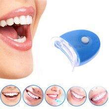 1Pc Hot New Blue LED Teeth Whitening Accelerator UV Light Dental Laser Lamp Light Tool Tooth Cosmeti
