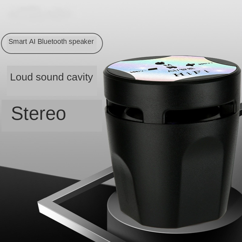 New AI Smart Small Wireless Bluetooth Speaker Home Stereo 5.0 Portable Bass Mini Stereo enlarge