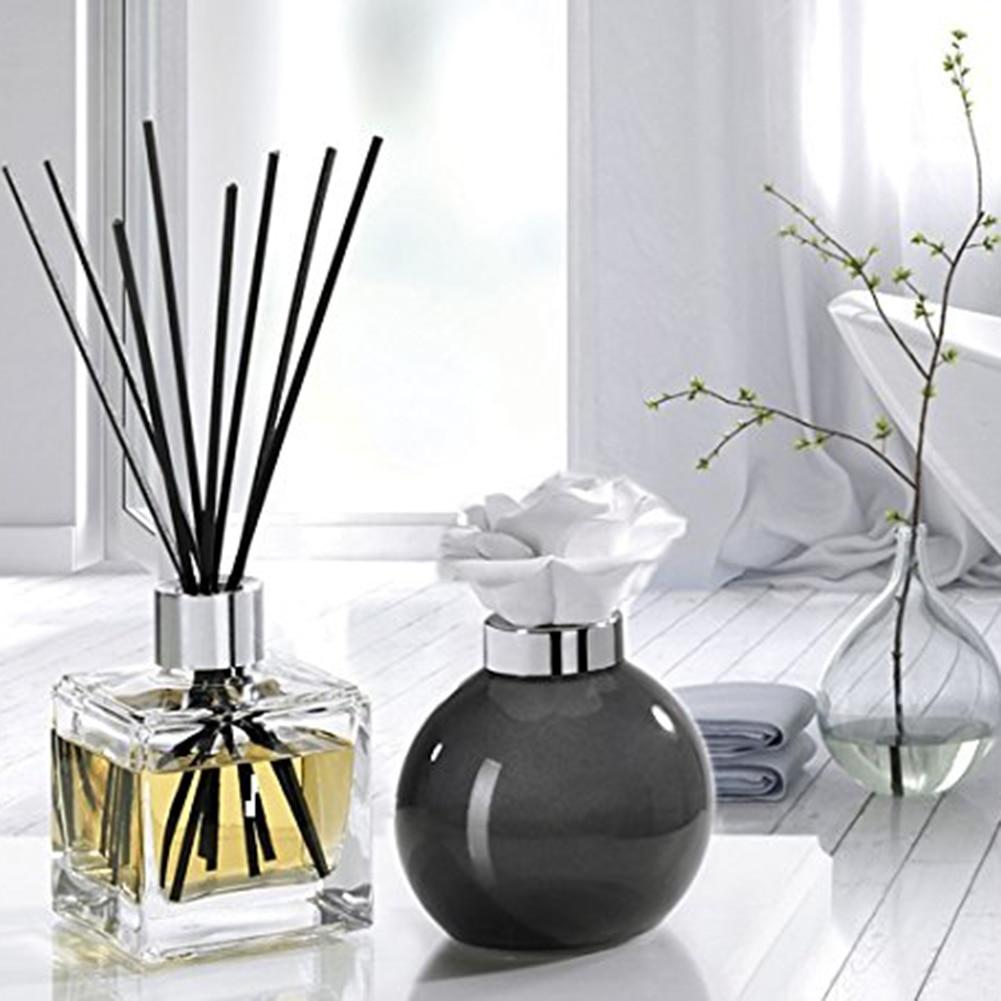 Palos de caña de ratán de 30/40/50/100pc difusor de fragancia de junco difusor de Aroma aceite palitos de ratán para difusor de fragancia de baños del hogar
