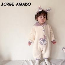 2022 Winter Baby Girls Sets Purple Rabbit Sweatshirt+Pants+Dress+Denim Jacket+Coat+Leggins+Romper+Cl