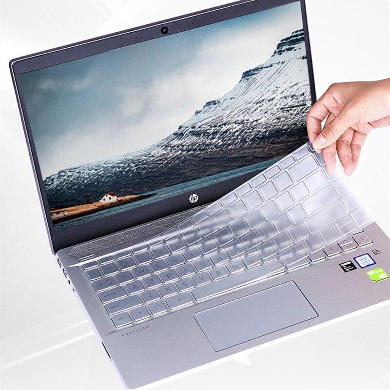 TPU Clear skin Stickers cubierta del teclado para HP pavilion x360 14 pulgadas Notebook Protector película para cubrir teclado membrana impermeable.