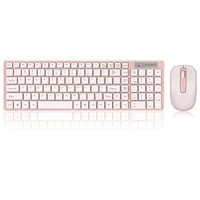 2 4g wireless silent keyboard and mouse multimedia full size keyboard mouse combo set for notebook laptop desktop pc