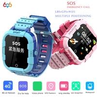 Детские Смарт-часы с 4G LTE HD фото GPS SOS SIM телефон видеозвонки водонепроницаемый полный сенсорный экран Детские Смарт-часы для IOS Android