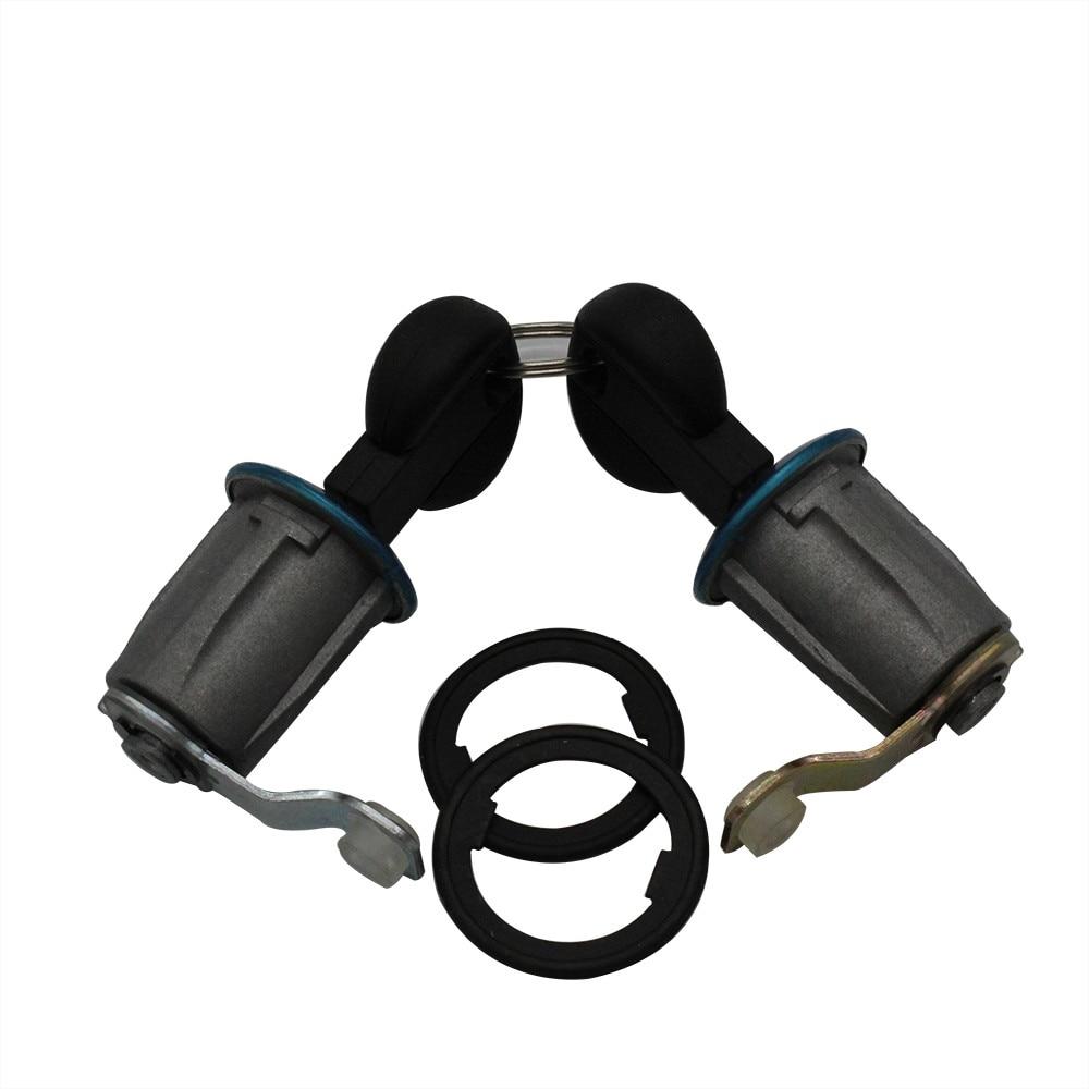 2pc cilindro de fechadura da porta do carro para citroen xsara berlingo para peugeot parceiro oem SI-AT10008/191605463962 abs liga 16x7.5x6cm 67