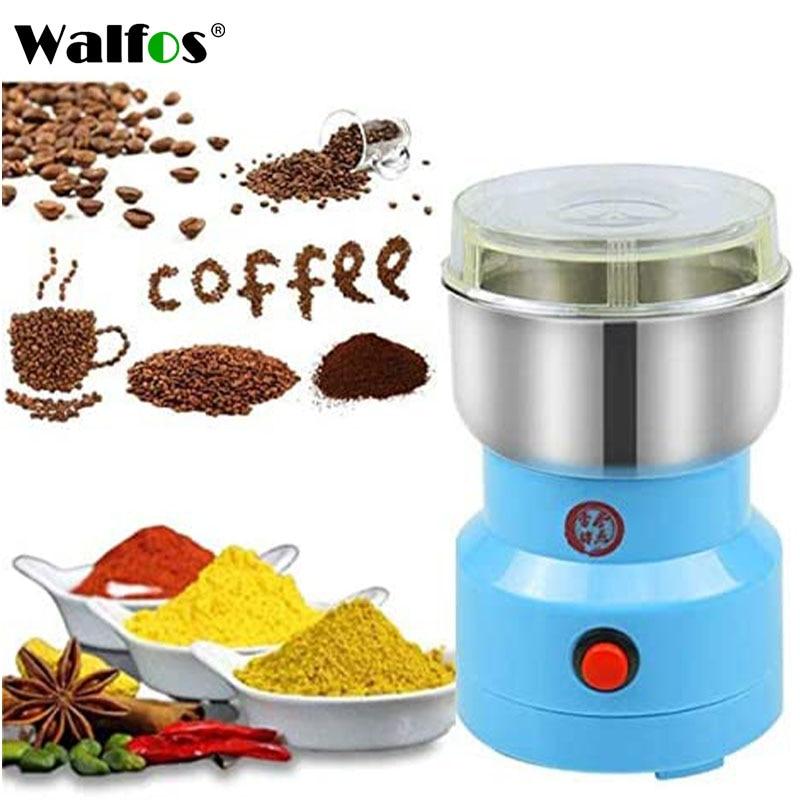 مطحنة قهوة كهربائية, مطحنة قهوة كهربائية للمطبخ ، الحبوب ، المكسرات ، الفاصوليا ، التوابل ، آلة طحن الحبوب ، مطحنة قهوة منزلية متعددة الوظائف