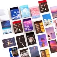 50pcspack sticker set sunset forest rose firework decorative label for scrapbooking diary book album planner