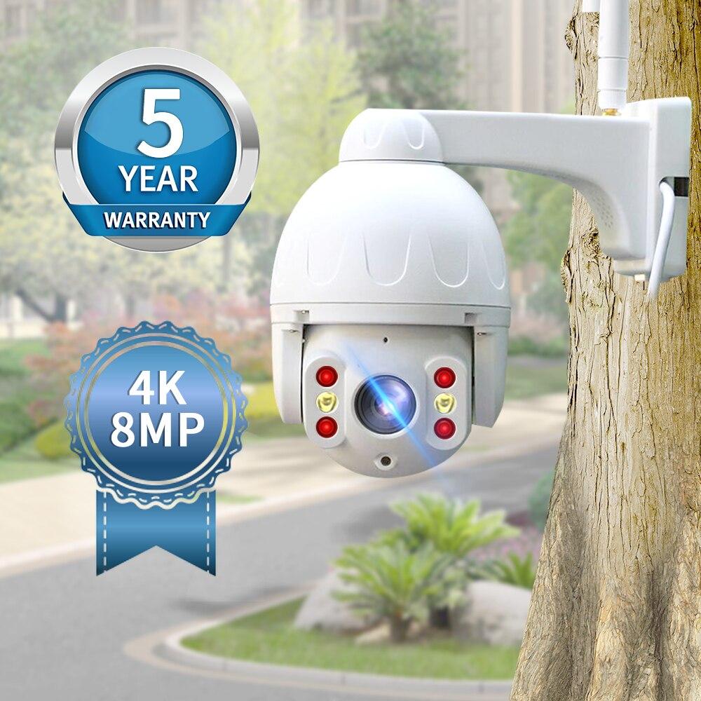 neye camera ao ar livre 8mp 4k wifi camera de seguranca ip inteligente a prova dptz