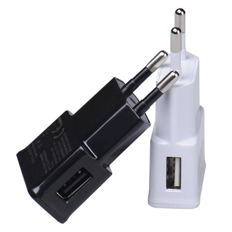 Настенное USB зарядное устройство 1 USB EU US вилка для Samsung iphone мобильный телефон Зарядка адаптер питания микро зарядное устройство для путешествий для ipad Универсальный