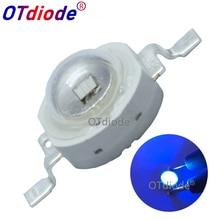 10pcs 3W High Power LED UV Purple Light Chip 365nm 375NM 385nm 395nm 400nm 415nm 430nm Diode High Power COB Ultraviolet Lights