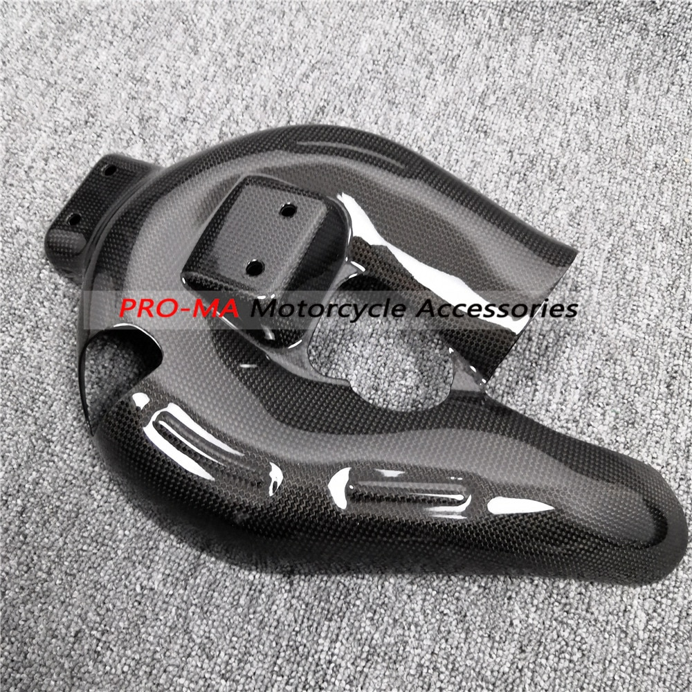 Para Ducati Panigale 959 1299 899 1199, accesorios de fibra de carbono para motocicleta (Protector de escape), Protector de escape