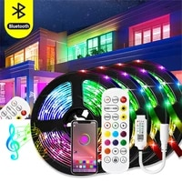 led strip lights bluetooth 10m 30m 5050 waterproof led light for room 15m 5m flexible lamp ribbon smd rgb tape diode luces led