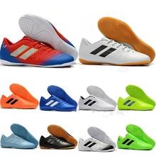 Cheapest 2019 World Cup Mens Soccer Cleats Nemeziz Messi Tango 18.3 IC Indoor Soccer Shoes Tango 18 Football Boots Scarpe Calcio