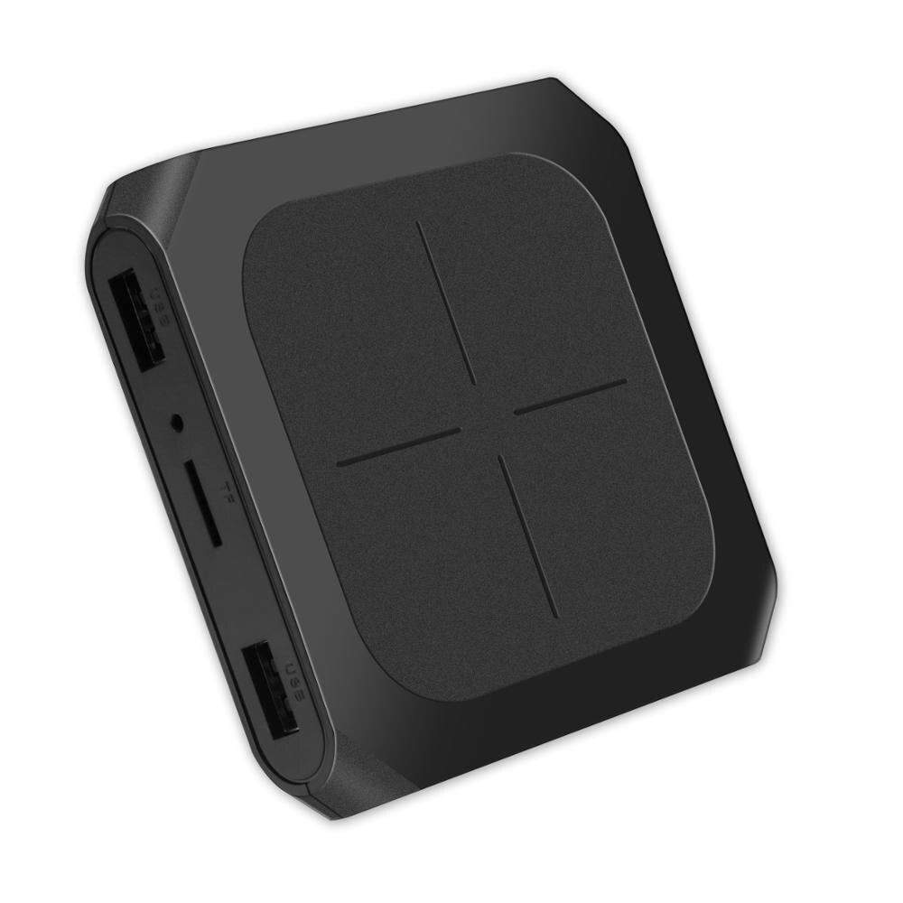 20 unids/lote T96D Amlogic S905W internet ott tv decodificador HD 2,0 4k dual wifi google android 7,1 caja digital