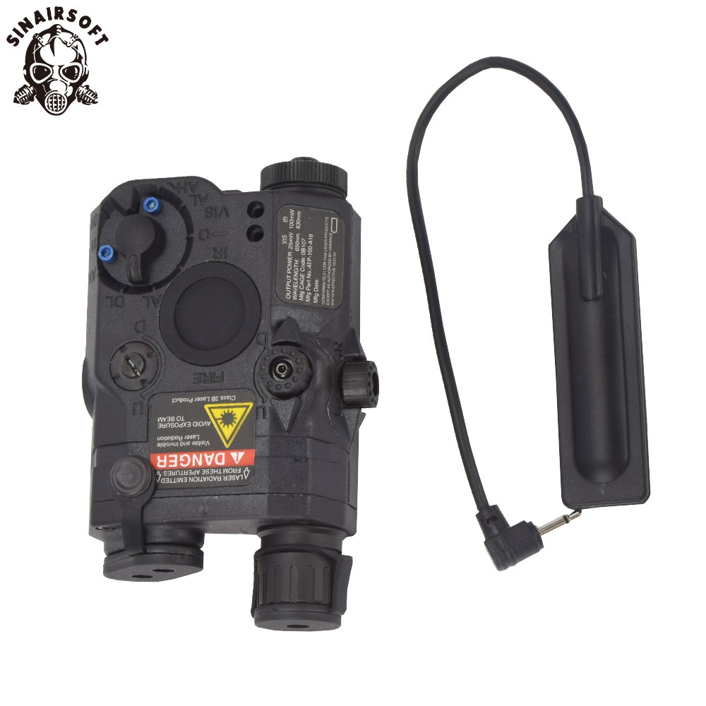 Paintball Airsoft Shooting LA PEQ15 Red Dot Tactical Light PEQ Red Laser PEQ 15 IR Lights Laser Combo Hunting Peq-15 Element original fma tactical military airsoft an peq 15 battery box laser red dot laser with white led flashlight and ir lens tan bk