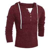 sweater men long sleeve pullovers solid new fashion men casual hooded sweater winter warm men clothes slim fit clothing