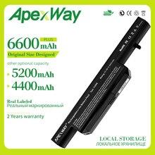 Apexway 11.1V 6 bateria ogniwowa do Clevo C4500BAT-6 C4500BAT 6 B4100M C4500 C4500BAT6 B4105 B5100M B5130M W150 W240C W240HU W250H