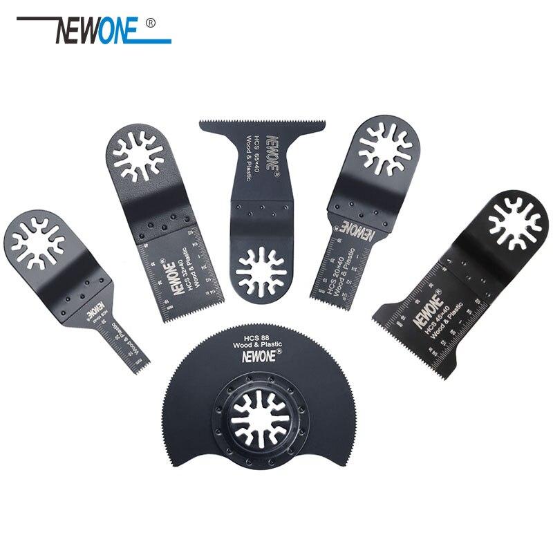 Professionnel 6 pièces/ensemble oscillant multi outils lames de scie accessoires adaptés pour outil électrique multimaître comme Fein, Dremel etc.