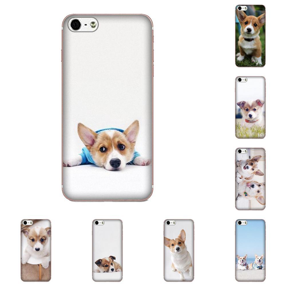 For Xiaomi Redmi Note 8 8A 8T 10 K30 5G Pro For Motorola G G2 G3 G4 G5 G6 G7 Plus Broccoli Phone Accessories Case Corgi Puppy