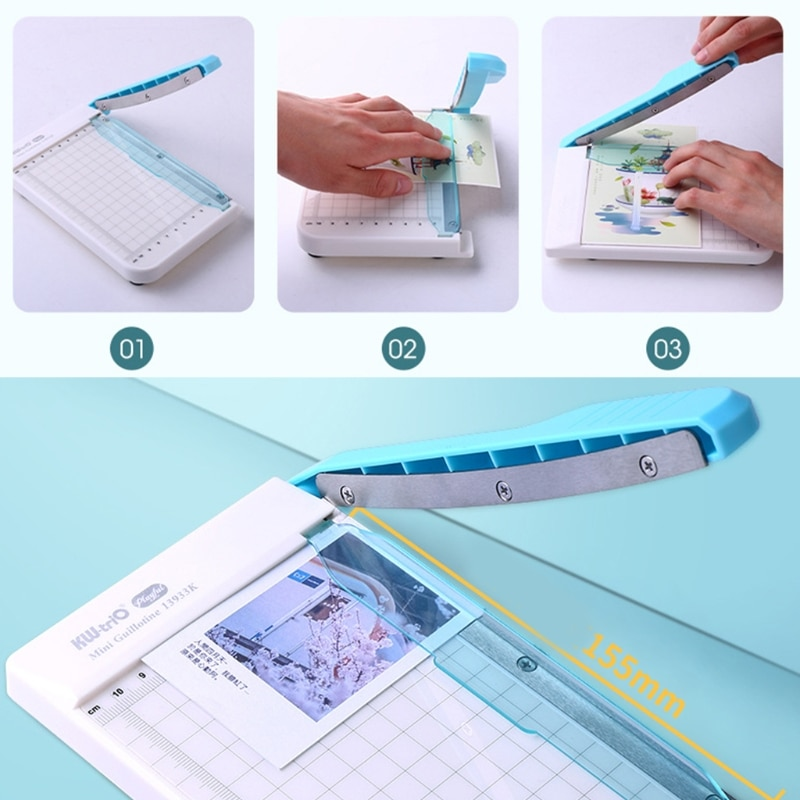 Профессиональная машина для резки бумаги А4, Гильотинный триммер для дома, офиса, школы, инструменты для резки бумаги