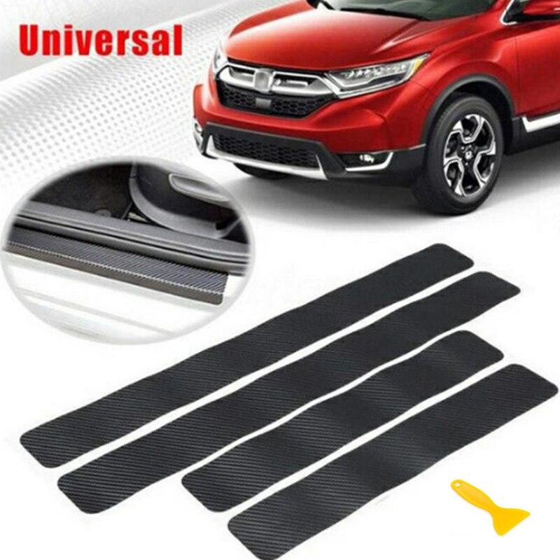 3D z włókna węglowego ochrony uszczelka do drzwi samochodu naklejki na naklejki dla Citroen Picasso C1 C2 C3 C4 C4L C5 DS3 DS4 DS5 DS6 Elysee C c-quatre