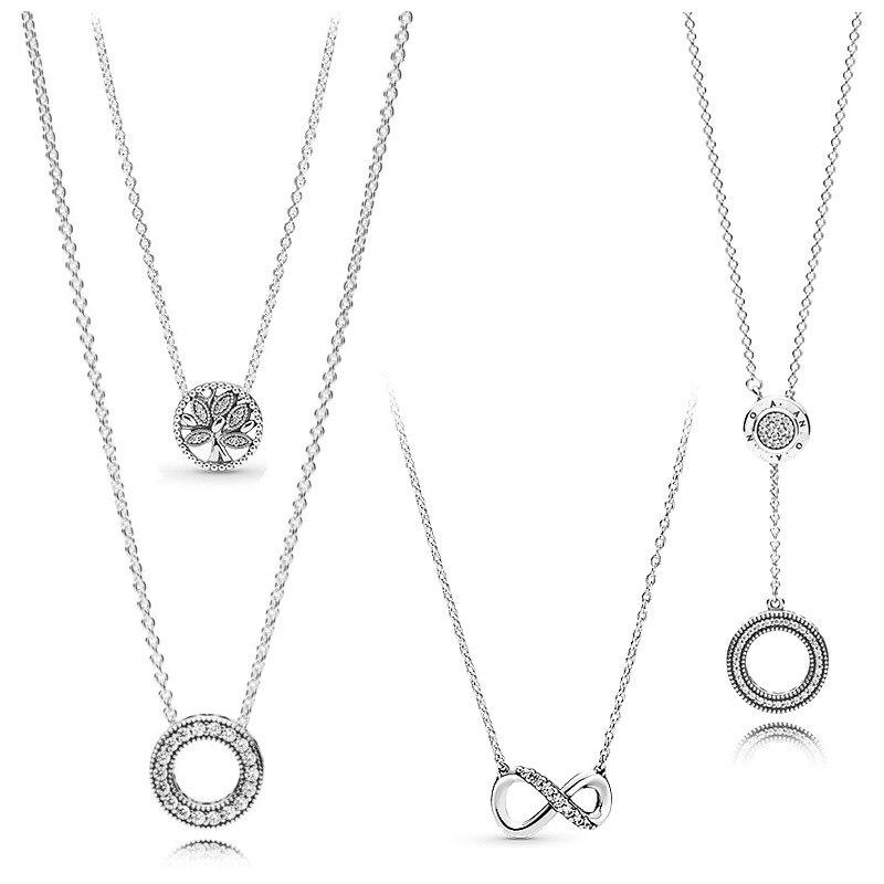 925 prata esterlina espumante favo de mel hexágono collier com colar de cristal para festa de casamento feminino moda jóias