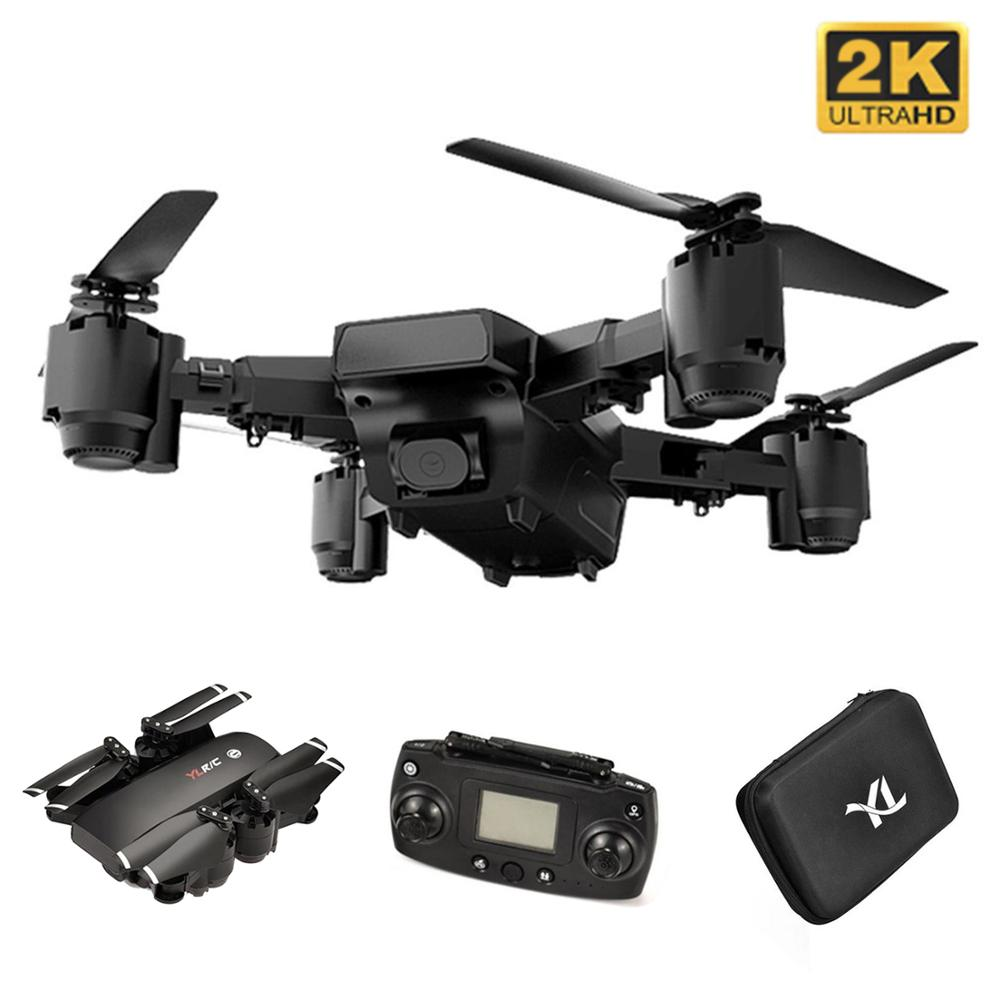 2019 S30 2,4G RC Drone 720P Wifi Cámara plegable Mini Drone 4CH 6-eje FPV Drone GPS incorporado una retorno clave con la batería
