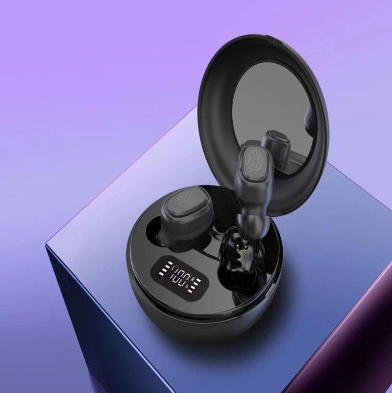 Portable TWS Binaural Wireless Bluetooth Earphone 5.0 Mini Stereo Wireless earphones Sports Earbuds Mini Headset &Mic for Huawei enlarge
