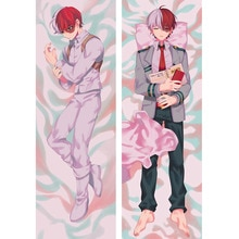 My Hero Academia Todoroki Shouto Japan Anime Hugging Body Dakimakura Pillow Cover Case Boku no Hero Academia Cosplay Otaku Gifts